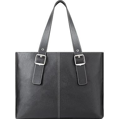 Solo® Classic Collection Triple Compartment Briefcase, Black, 16