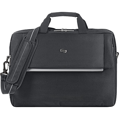 Solo Urban Laptop Briefcase, Black (LVL330-4)
