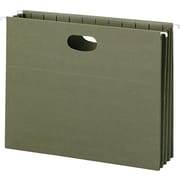 100% Recycled Hanging Pockets With Full-Height Gusset, Legal,, Green, 10/Box