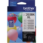 Brother LC203BKS Black Ink Cartridge, High-Yield