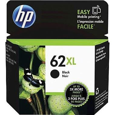HP - Cartouche d'encre originale 62XL noire, haut rendement