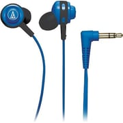 Audio Technica Core Bass In-Ear Headphones, Blue