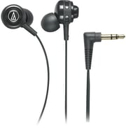 Audio Technica Core Bass In-Ear Headphones, Black