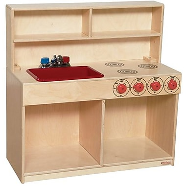 Wood Designs™ Tot Furniture Plywood Tot 3-N-1 Kitchen