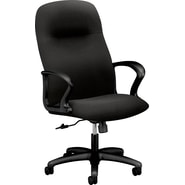 HON Gamut Executive High-Back Chair ,  Black