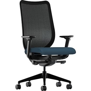 HON® HONN103CU90 Nucleus® Fabric Mesh Back Office Chair with Adjustable Arms, Cerulean