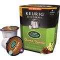 Keurig 2.0 K-Carafe Pack Green Mountain French Vanilla Coffee, 8/Pack