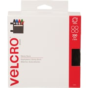 "Velcro® Sticky Back™ 3/4"" Hook and Loop Fastener, Black"