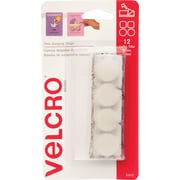 VELCRO® Brand Removable Poster Hangers, White, 1/4 lb, 12 Sets