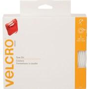 VELCRO(R) brand Sew-On Tape 2X15', White