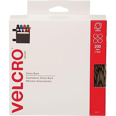 VELCRO® Brand Sticky Back™ Coins 3/4