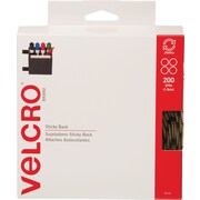 VELCRO® Brand Sticky Back™ Coins 3/4 Beige, 200 sets
