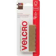 "Velcro® 3/4"" x 18"" Sticky Back Tape Strips, Beige"