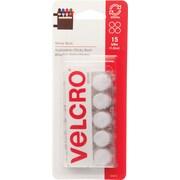 "Velcro® 5/8"" Round Tape, White"