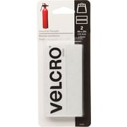 "Velcro Industrial Strength Strips, 2"" x 4"", White"