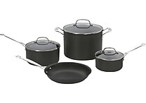 Cuisinart Chef's Classic Nonstick Hard-Anodized 7-Piece Cookware Set