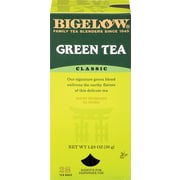 Bigelow® Green Tea, Regular, 28 Tea Bags/Box