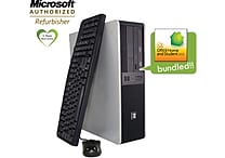 HP DC5850 Dual Core PC with Win7 Home Prem. and MS Office 2010 Home & Student, Refurbished