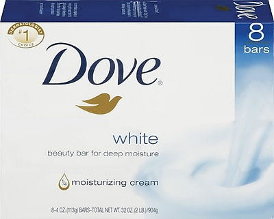 Dove Bar Soap with Moisturizing Cream 4 oz. 8 Bars Pack