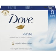 Dove® Bar Soap with Moisturizing Cream, 4 oz., 8 Bars/Pack