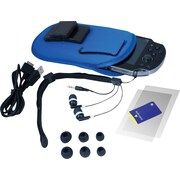 "Hyperkin® M05882 10"" Starter Bundle Travel Accessory Kit For PlayStation Vita"
