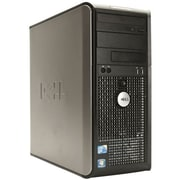 Refurbished Dell Optiplex 780 Tower, 160GB Hard Drive, 2GB Memory, Intel Core 2 Duo, Win 7 Home