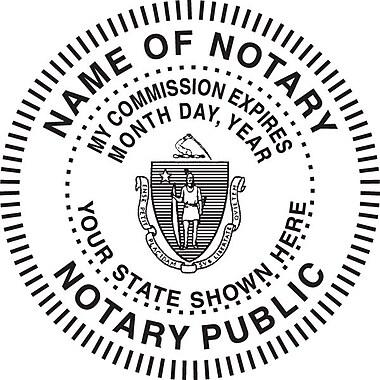 Custom Notary Stamp