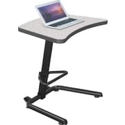 Balt Up Rite Adjustable 26.6'' Student Desk , Gray (90532-4622-BK)