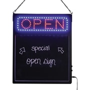 """KC Store Fixtures 12262 22"""" x 18.75"""" Molded Plastic """"Open"""" LED board"""
