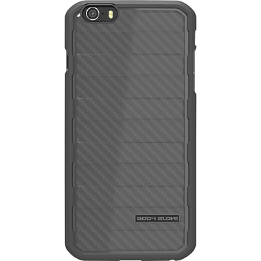 Body Glove Rise Case for iPhone 6, Black Brushed Metal