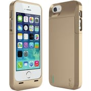 uNu Power DX 2300mAh External Protective Battery Case for iPhone 5, Gold