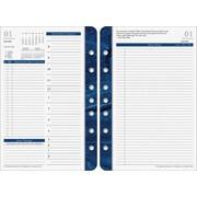 "2016 FranklinCovey Monticello® Desk Daily Planner Refill, 5 1/2"" x 8 1/2"", Design, (36229-16)"