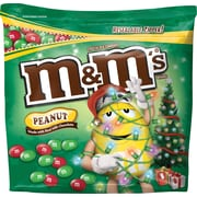 M&M Christmas Peanut 42oz Bag