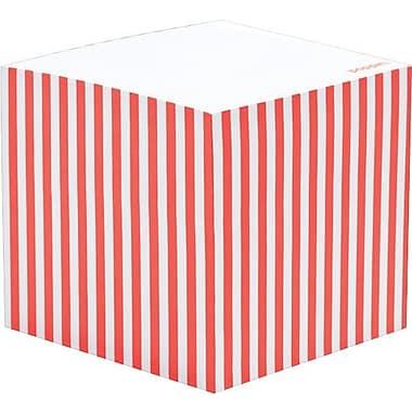 Poppin Coral Memo Cube