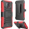 i-Blason Prime Series Samsung Galaxy S5 Case, Red