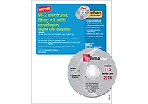 Staples® 2014 Tax Forms, W2 E File Tax Forms Software & Envelopes, 50/Pack