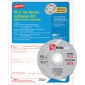 Staples® 2014 Tax Forms, W2 Tax Software Kit, 50/Pack