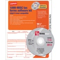 Staples® 2014 Tax Forms, 1099 Misc Tax Software Kit, 50/Pack