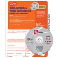 Staples® 2014 Tax Forms, 1099 Misc Tax Software Kit, 24/Pack