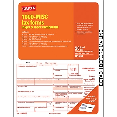 Staples | 1099 IRS Form 1099
