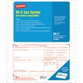 Staples® 2014 Tax Forms, W2 Continuous Form, 24/Pack
