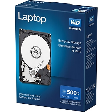 WD Mainstream 500GB SATA 3.0 Laptop 2.5-Inch Internal Hard Drive (WDBMYH5000ANC)