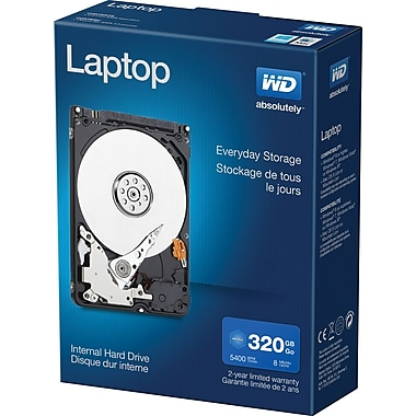 WD Laptop Mainstream 320GB Internal Hard Drive