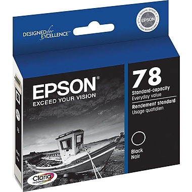 Epson® 78 (T078120) Black Inkjet Cartridge
