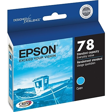 Epson® 78 (T078220) Cyan Ink Cartridge