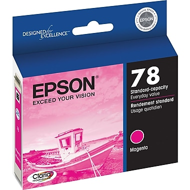 Epson® 78 (T078320) Magenta Ink Cartridge