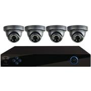 Night Owl 4 Channel PRO 960H DVR, Smart Device Remote Playback/Viewing, 4 x 700 TVL Dome Cameras - with 500 GB HDD