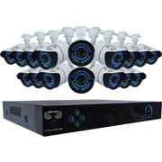 16 Channel X100 960H DVR, Smart Device Remote Playback/Viewing, 16 x 900 TVL Bullet Cameras - with 2 TB HDD