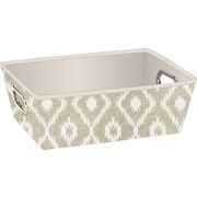 The Macbeth Collection Grommet Shelf Tote, India Faux Jute