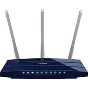 TP-LINK TL-WR1043ND V2 Wireless N300 Gigabit Router, 300Mbps, USB, 3 Antennas, 450Mbps, WPS Button